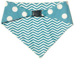 Uptown Pups Clip-on Reversible Bandana Classic