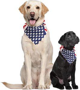 Costume Adventure USA Dog Bandana Large American Flag Bandana