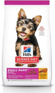 Hill's Science Diet Dry Dog Food, Adult, Small Paws