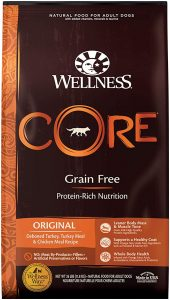 Wellness Core Natural Grain-Free Dry Dog Food Original Turkey & Chicken