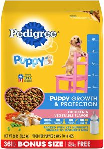 Pedigree Puppy Growth & Protection Dry Dog Food
