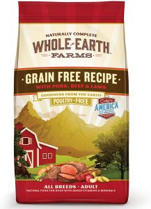 Whole Earth Farms Grain-Free, Natural Dry Dog Food​