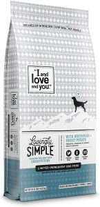 """""""I and love and you"""" Lovingly Simple Dry Dog Food - Grain Free Limited Ingredient Kibble"""