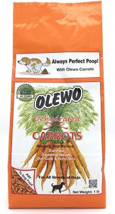 Olewo Carrots Digestive Dog Food Supplement