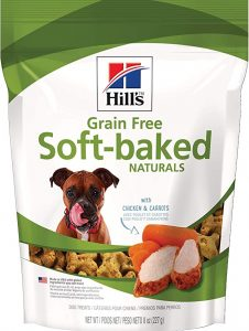 Hill's Ideal Balance Grain-Free Dog Treats, Soft-Baked Naturals Dog Snack