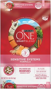 Purina ONE SmartBlend Natural Sensitive Systems, Digestive Health, & Limited Ingredient Formulas Adult Dog Food