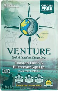 Earthborn Holistic Venture Roasted Lamb & Butternut Squash Grain-Free Dry Dog Food