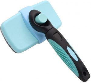 Bowwow & Meow Retractable Dog Shedding Grooming Brush