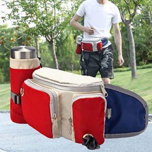 Sendk Pet Water Bottle Carrier Holder with Adjustable Waist Belt