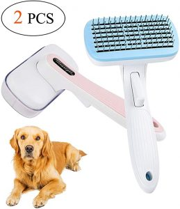 2 Pack Dog Brush