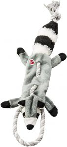 SPOT Ethical Pets Forest Raccoon Skinneeez Tugs Stuffingless Dog Toy