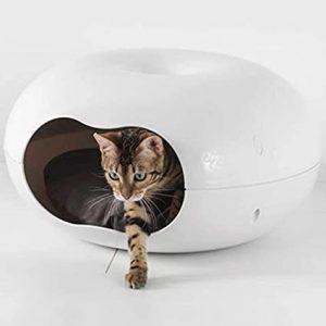 CatCentreⓇ Outdoor Donut Bed Pet Cat Dog House Plastic Waterproof Shelter Rabbit Pod