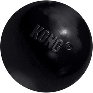 KONG Rubber Ball Extreme (Black Rubber Toy)