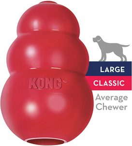 Kong Classic Dog Toy (Red Rubber Toy)