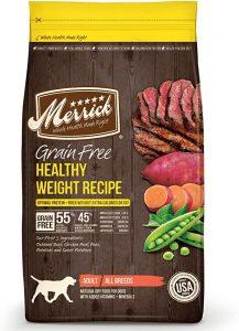Merrick Grain-Free Healthy Weight Dry Dog Food Recipes