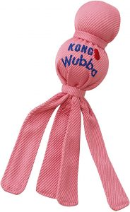 KONG - Wubba Puppy - Nylon Tug of War Dog Toy