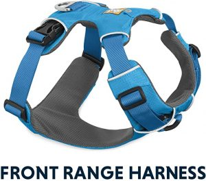 RUFFWEAR Front Range Harness for running with the Dog
