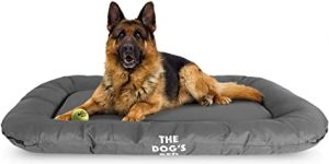The Dog's Bed, Premium Waterproof Dog Bed, Large 100x70cm, Tough YKK Zipper, Washable Durable Cover