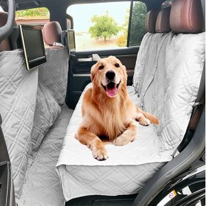 Deluxe Quilted and Padded Dog Car Seat Cover