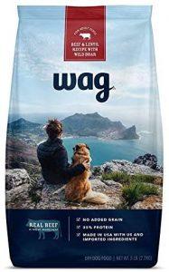 Wag Dry Dog Food, 35% Protein, No Added Grains (Beef, Salmon, Turkey, Lamb)
