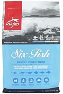 Orijen Six Fish Dog Food, 6 kg