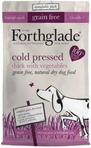 Forthglade Natural Grain Free Cold Pressed Dry Dog Food Duck and Vegetables 6 kg Bag