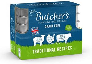 BUTCHER'S Wet Dog Food Trays Grain Free Traditional Recipes 4.8kg (36 x 150g)