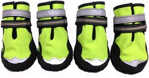 Xanday Dog Boots Waterproof Dog Shoes, Paw Protectors