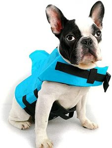 Handfly Shark Dog Life Jacket Pet Life Vest Summer Dog Swimming Clothes Dog Life Jackets for Small Medium Large Dogs