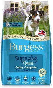 Supadog Burgess Puppy Rich in British Chicken Complete Food 12.5kg