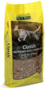 Fold Hill - Classic Working Dog Food, Complete with Chicken - Natural Adult Kibble with Adult Vitamins, Perfect for Glossy Coats, 15kg
