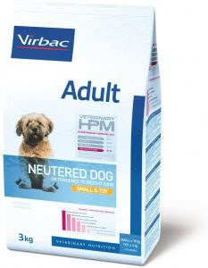 Virbac Veterinary HPM Adult Neutered Dog Small & Toy 7 KG