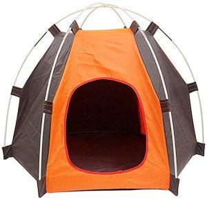 NALEDI Pet Tents Portable Folding Anti-ultraviolet Rainproof Waterproof Durable Dogs Cats Bed House for Summer Indoor Outdoor Travel Camping