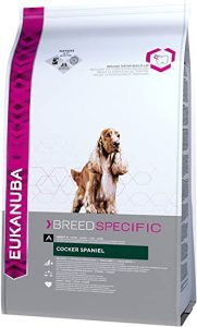 Eukanuba Dry Dog Food Breed Nutrition with Cocker Spaniel 2.5 kg