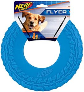 Nerf Dog Rubber Tire Flyer Dog Toy