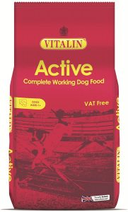 Vitalin Complete Dry Adult Active Working Dog Food Chicken, 15 kg
