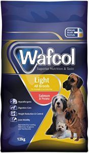 Wafcol Light Dog Food - Salmon & Potato - Grain Free Sensitive Dog Food - All Dog Breeds- 2.5kg Pack - Low in Fat