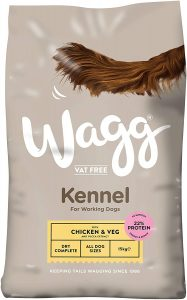 Wagg Chicken and Veg Kennel Complete Dog Food, 15 kg