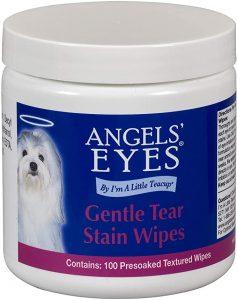 Angel's Eyes Gentle Tear Stain Wipes - 100 Ct (AEGTSW100)