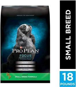 Purina Pro Plan Focus Small & Toy Breed