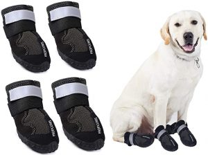 PROPLUMS Waterproof Dog Boots