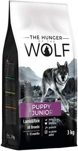 Dry Dog Food for Puppy and Junior with Lamb and Rice All Breeds, Delicate Formula, 3 kg