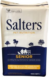 Salters Senior Food - A Complete Food for Senior Dogs (15kg)