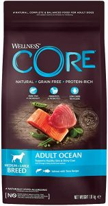 Wellness CORE Ocean Dog Food Dry Grain Free - Salmon & Tuna, 1.8 kg