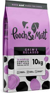 Pooch & Mutt - Complete Dry Dog Food - Calm & Relaxed (Grain Free & 100% Natural) - Turkey & Sweet Potato, 10kg
