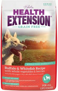 Health Extension Grain-Free Dry Dog Food - Buffalo & Whitefish Recipe