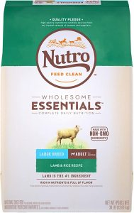 NUTRO WHOLESOME ESSENTIALS Large Breed Adult Lamb & Rice Dry Dog Food