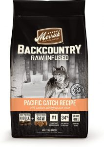 Merrick Backcountry Freeze-Dried Raw Pacific Catch