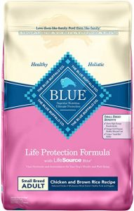 Blue Buffalo Life Protection Formula Small Breed Dog Food – Natural Dry Dog Food for Adult Dogs