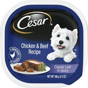 Cesar Puppy Chicken & Beef & Lamb & Rice Variety Pack Dog Food Trays